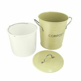 Compost Pail Sage Green 83010