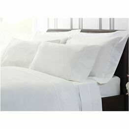 Dorma Sateen Fitted Sheets White