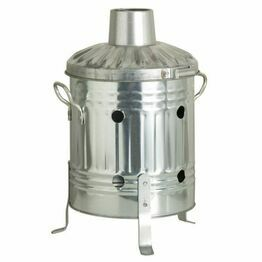 Galvanised Mini Outdoor Incinerator - 15ltr