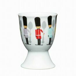 Kitchen Craft Children's Soldiers Porcelain Egg Cup