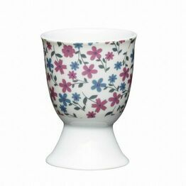 Kitchen Craft Floral Daisy Porcelain Egg Cup