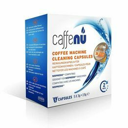 Caffe Nu Nespresso Coffee Machine Cleaning Capsules Pack of 5