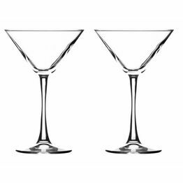 Ravenhead Martini Cocktail Glasses set of 2 24cl
