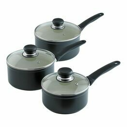 Kuhn Rikon Ceramic Induction Saucepan Set 3piece 31349