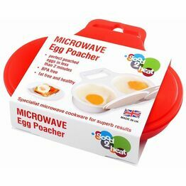 Good2heat Microwave 2 Egg Poacher