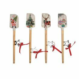 Christmas Spatula & Star Cookie Cutter Set 84020
