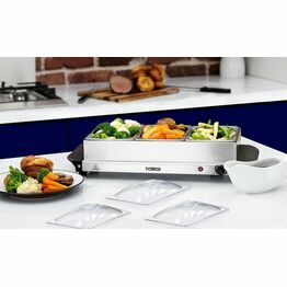 Tower T16021 3 Tray Buffet Server