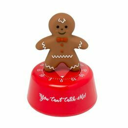 Kitchen Timer Gingerbread Person