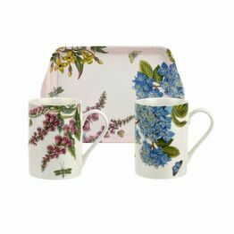 Pimpernel Botanic Garden Terrace Mugs and Tray Set