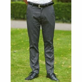 School Trousers Senior Boys Regular Fit Black