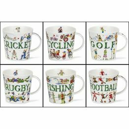 Dunoon Cairngorm Fine Bone China Mug - Sporting Antics Designs