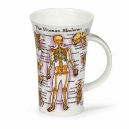 Dunoon Glencoe Fine Bone China Mug - Human Body