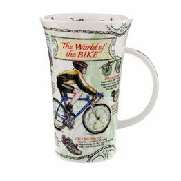 Dunoon Glencoe Fine Bone China Mug - World of the Bike