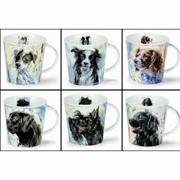 Dunoon Cairngorm Fine Bone China Mug - Dogs on Canvas Designs