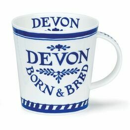 Dunoon Cairngorm Fine Bone China Mug - Devon Born & Bred