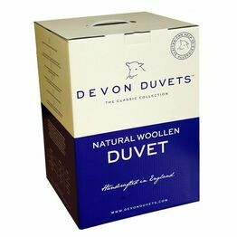 Devon Duvets 100% Wool 300gsm - Summer Weight
