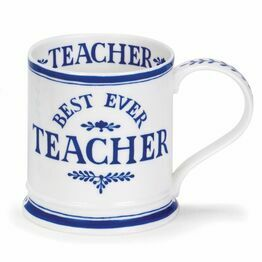 Dunoon Iona Fine Bone China Mug - Best Ever Teacher