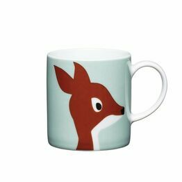 Espresso Coffee Mug Porcelain 80ml - Deer