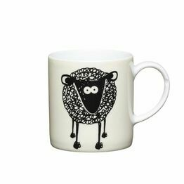 Espresso Coffee Mug Porcelain 80ml - Sheep