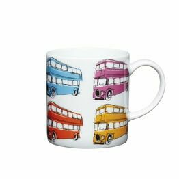 Espresso Coffee Mug Porcelain 80ml - London Bus