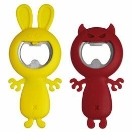 Novelty Bottle Opener Devil or Rabbit