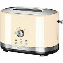 KitchenAid Manual Control Toaster Cream 5KMT2116BAC