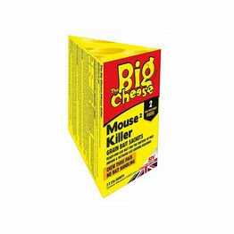 STV Big Cheese Mouse Killer Grain Bait Sachets 2pack STV238