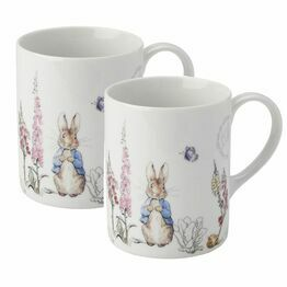 Peter Rabbit Classic Set of 2 Mugs
