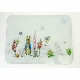 Peter Rabbit Classic Glass Worktop Protector