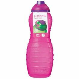 Sistema Twist 'n Sip Davina Bottle - 700ml, Mixed Colours