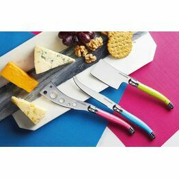 Colourworks Three Piece Cheese Knife Set