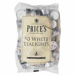 Prices Tealights bag of 50 TE041628