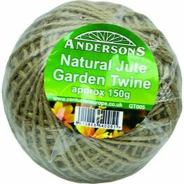 Andersons Natural Jute Garden Twine 150g