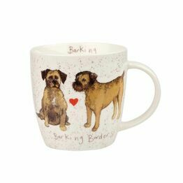 Alex Clark China Squash Mug Barking Borders ALCK10331