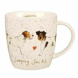 Alex Clark China Squash Mug Jumping Jacks ALCK10411