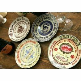 Gourmet Cheese Plates ( set of 4)