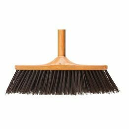 Elliott Wood Effect Indoor Broom With Stiff Fill