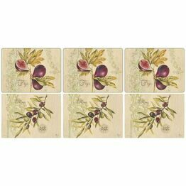 Pimpernel Olives and Figs Placemat set of 6