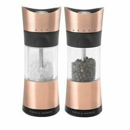 Cole & Mason Inverta Select Copper Salt & Pepper Mills