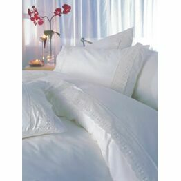 Duvet Cover Set - Yasmin White