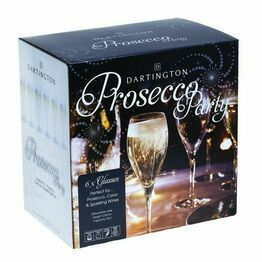 Dartington Prosecco Glass Party Pack of 6