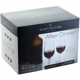 Dartington Port Glass After Dinner Party Pack of 6