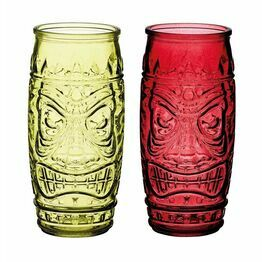 BarCraft Tiki Glass Gift Set BCTIKI2PC