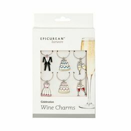 Epicurean Celebration Wine Charms 39WM03