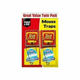 STV Big Cheese Baited Mouse Traps (2) STV197