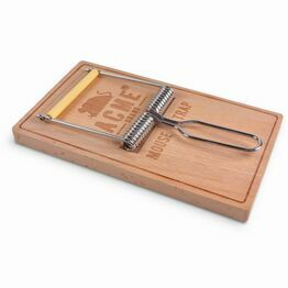 Fred Oh, Snap! Cheese Board & Slicer Mouse Trap