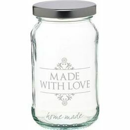 Home made 'Made with Love' Jar