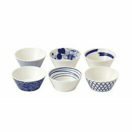 Royal Doulton Pacific 11cm Tapas Bowl Set of 6 Assorted