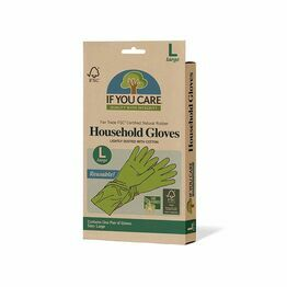 Fair Trade Certified Latex Household Gloves Large