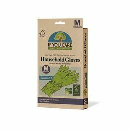 Fair Trade Certified Latex Household Gloves Medium